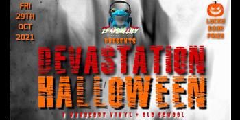 Devastation Halloween - Vinyl & Old School Hardcore Event