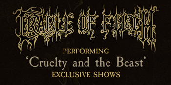 Cradle Of Filth Australian Tour 2019